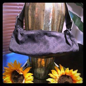 Gucci canvas handbag (small) Authentic